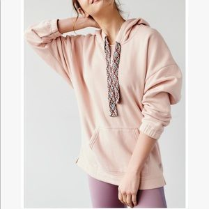 Free People Movement Chill Out Fleece Tunic Hoodie